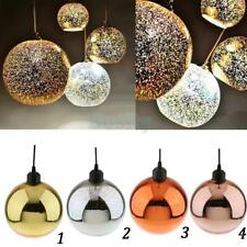 Hanging 3D Colored Glass Ceiling Lights Pendant Lamp Chandeliers Lampshade