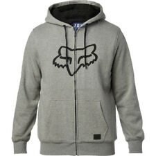 Fox Racing Tracked Sherpa Mens Hoody Zip - Heather Graphite All Sizes