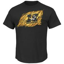 Men's Majestic Black Missouri Tigers T-Shirt