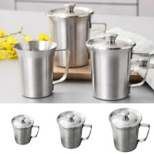 1x Stainless Steel Drinking Cups for Children Double Wall Tea Coffee Travel Mug