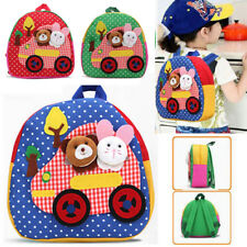 Cute Hot Sell Toddler Backpack Kindergarten Schoolbag 3D Cartoon Animal Bag