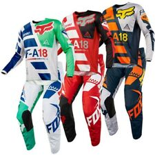 Motocross Suit 180 Fox Racing SAYAK 2018 Full Set Jersey Pants Combo  MX 3 Color