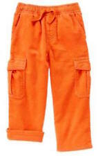 Nwt Gymboree S'more Style Orange Corduroy Lined Pants Size 18-24 Months