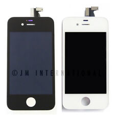 White iPhone 4 4S CDMA LCD Touch Screen Assembly Frame Digitizer Assembly Black