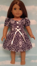 """Dress handmade to fit 18"""" American Girl Doll 18 inch Doll Clothes 2ab"""