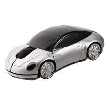 Car Shape Wireless Optical Mouse Color Changing Home Office USB UTAR