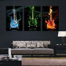 No Framed Guitar Canvas Prints Painting Home Art Decor Wall Picture S/ M/ L