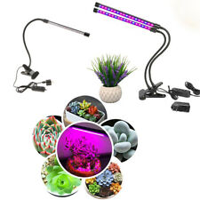 One/Dual Head Adjustable Plant Grow Light Grow Lamp for Indoor Hydroponics Plant