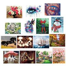 40x50cm DIY Paint By Number Kit Canvas Oil Painting Home Wall Decor Gift
