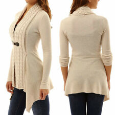 Knitwear Women Casual Slim Fashion Buckle Tops Hot Long Sleeve Sweaters Cardigan
