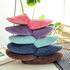 1 Pair Furry Slippers Bedroom Soft Plush Slippers Cotton Slippers