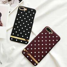 New Fashion Spots Strips Back Cover Hard PC Phone Case For iPhone 6 6S 7 8 Plus