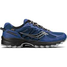 NEW Mens SAUCONY Blue Grey Mesh Synthetic EXCURSION TR11 GTX TRAIL Running Shoes