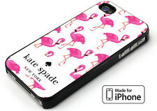 Pink Flamingo Pattern Design Cover iPhone 5 5s 6 6s 6+ 6s+ 7 7+ TPU Rubber Case