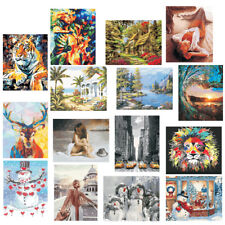 40x50cm Unframed DIY Paint By Number Kit Oil Painting Picture On Canvas Home