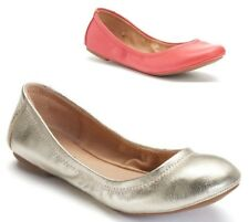 SONOMA Womens Leather Ballet Flats Slip On Solid size 6.5 7 8 8.5 9 10 NEW