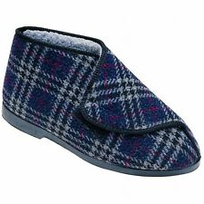 GBS William Great British Touch Fastening Bootee / Mens Slippers / Mens Bootee