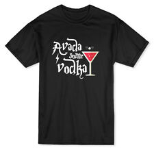 Avada Some Vodka Funny Drink Graphic Men's T-shirt