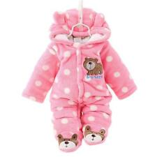Baby Kids Boy Girl Jumpsuit Winter Clothes Warm Rompers Infant Long Sleeve