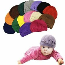 Baby Hats - 6 Pack Knit Hats for Babies - Beautiful Baby Gift Crochet Beanies by