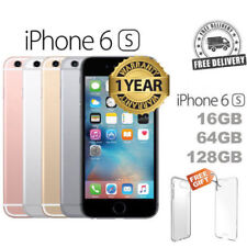 Apple iPhone 6s and 6s Plus 16GB 64GB 128GB Factory Unlocked FREE SIM Warranty