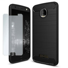 Smartphone Shockproof Case For Motorola Moto Z Force with tempered glass Armor