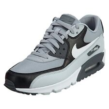 Nike Air Max 90 Essential casual lifestyle sneakers wolf grey/white-purple plat