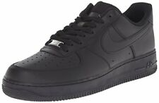 Nike Mens Air Force 1 Low 07 Basketball Shoes Black/Black 315122-001 Size 9