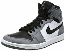 Nike Mens Air Jordan 1 Retro High Olympic Basketball Shoes Cool Grey/Black/Whit