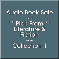 Audio Book Sale: Literature & Fiction (1) - Pick what you want to save