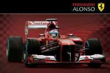 FERRARI F1 ALONSO 2013 CAR POSTER 61x91cm BRAND NEW LICENSED ART PRINT PICTURE