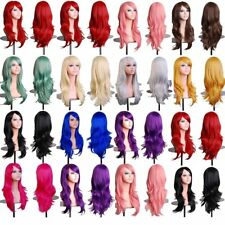 Gorgeous Girls Anime Wig Layer Wavy Heat Safe Cosplay Halloween Party Oh7