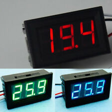 DC0-30v Digital LED Display Voltmeter Voltage Gauge Panel Meter For Car PICK