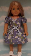 "Dress handmade to fit 18"" American Girl Doll 18 inch Doll Clothes 12a"