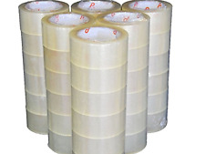 CLEAR SHIPPING PACKING CARTON SEALING TAPE Pack of 6, 12 and 36 Rolls