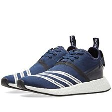 Adidas Mens WM NMD R2 PK White Mountaineering Navy/Black-White Fabric