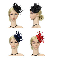 Women Fascinator Hair Clip Wedding Hair Accessory Bridal Hair Band