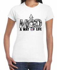 MOD A WAY OF LIFE WOMEN'S T-SHIRT - Mods Ska Scooter Target