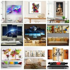Modern Abstract Canvas Print Oil Painting Wall Poster Home Decor Unframed