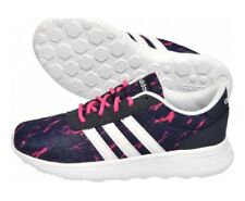Adidas Ladies Trainers - Lite Racer Trainers Pink/Blue Lace Up AW4962
