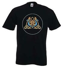 CELTIC EAGLE T-SHIRT - Pagan Druid Wicca Goth Gothic -Choice Of Colours FREE P&P