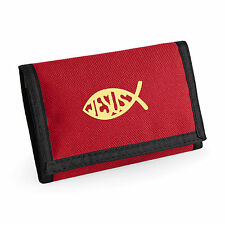 Wallet Ichthys Fish Christian symbol Fish Christian Gift Ichthus Mothers Day
