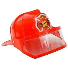 Funny Party Hats Kids Costume Hats - Dress Up Fireman Hats - Toy Police Hat by