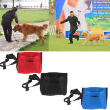 Pet Dog Puppy Training Treat Pouch Snack Bag with Belt Clip and Strap 3 Colors
