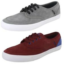 Mens Vox Footwear Inc Skater Style Lace Up Casual Leather Trainers Classx