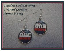 Head Start On SUPER BOWL 2019 New England Patriots Earrings Paper Clips Hat Clip