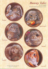Bunny Tales Collection by Vivi Crandall Bradford Exchange Plate , All 12