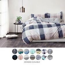 NEW Gioia Casa Quilt Cover Set 250 Thread Count Reversible Cotton Bedding