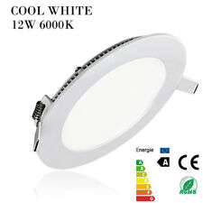 LED Dimmable Recessed Ceiling Panel Light Flat Downlight Fixture for Office Home