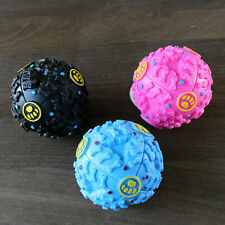 Dog Interactive Ball Chew Bite Sound Play Toy Puzzle Ball Fetch Toy Store Food
